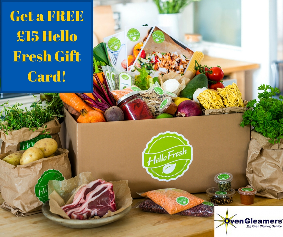 Get Your Hands On A £15 Hello Fresh Gift Card