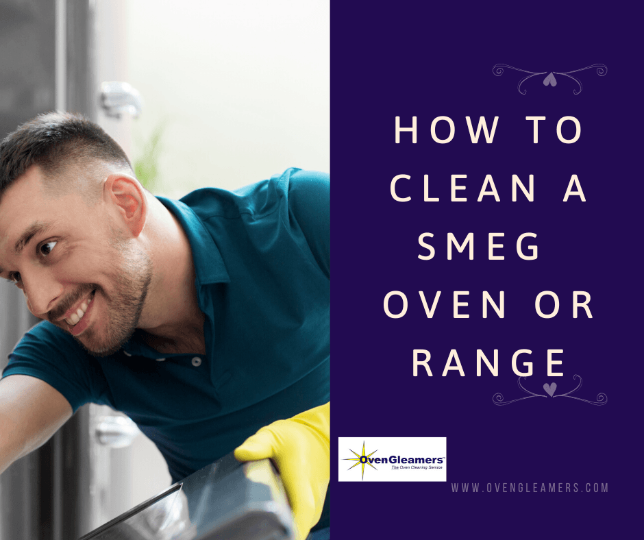 how to clean a smeg oven