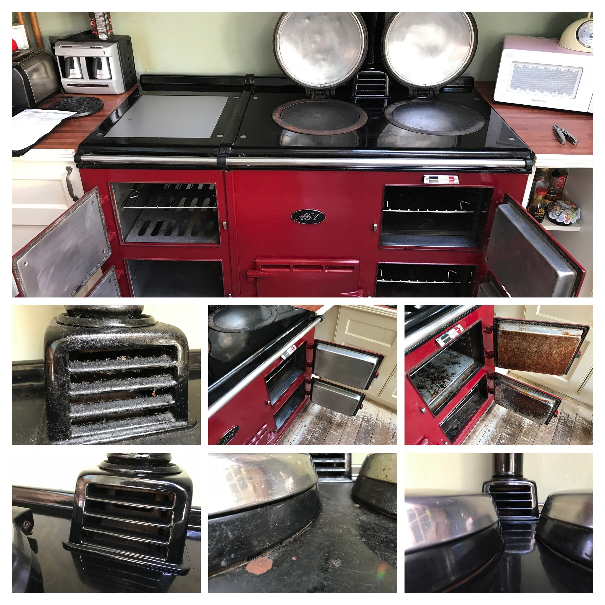 aga cleaning devon