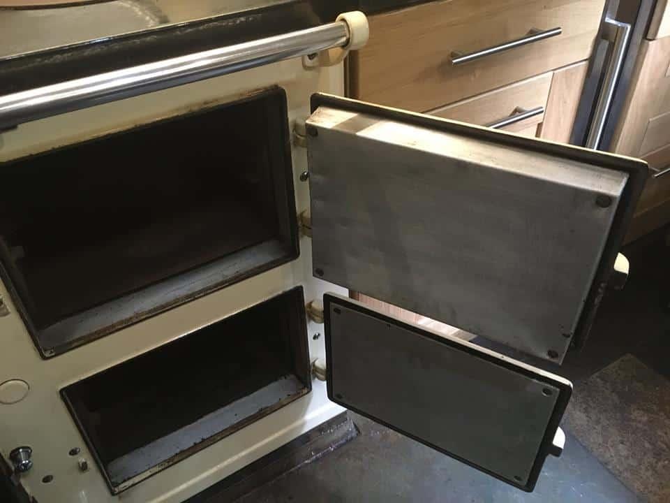 clean aga door liners