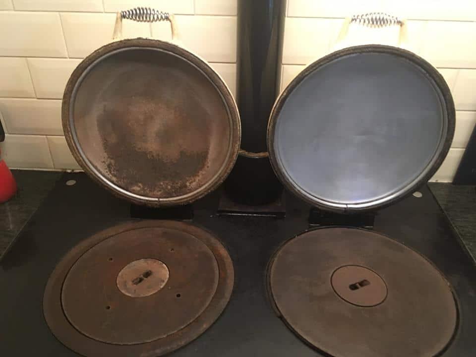clean aga lids