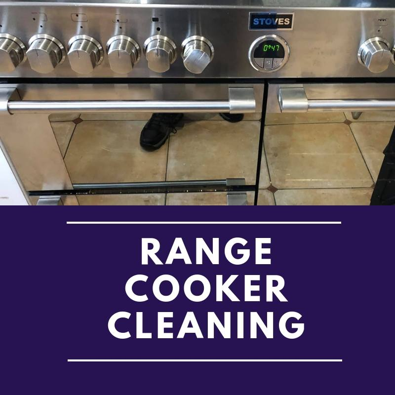 range cooker cleaning