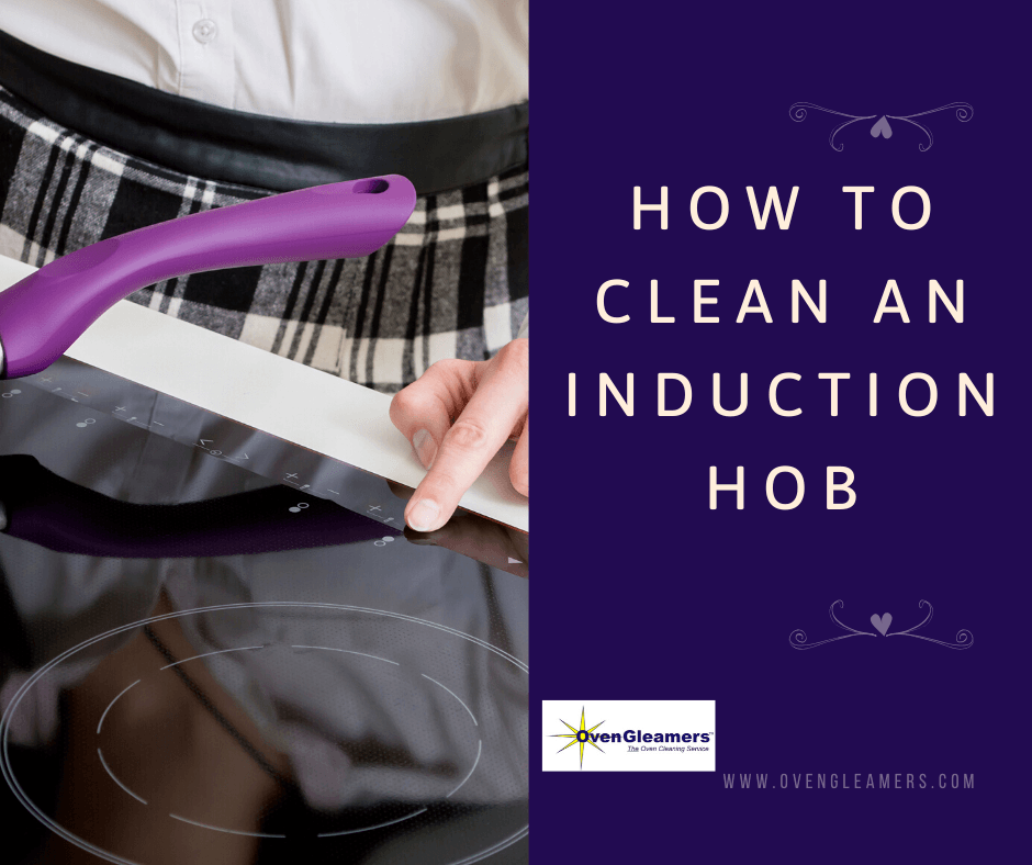 how to clean an induction hob