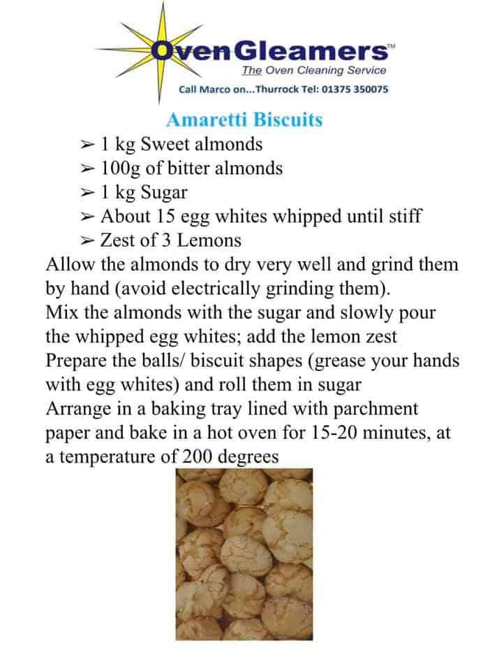 arametti biscuits recipe