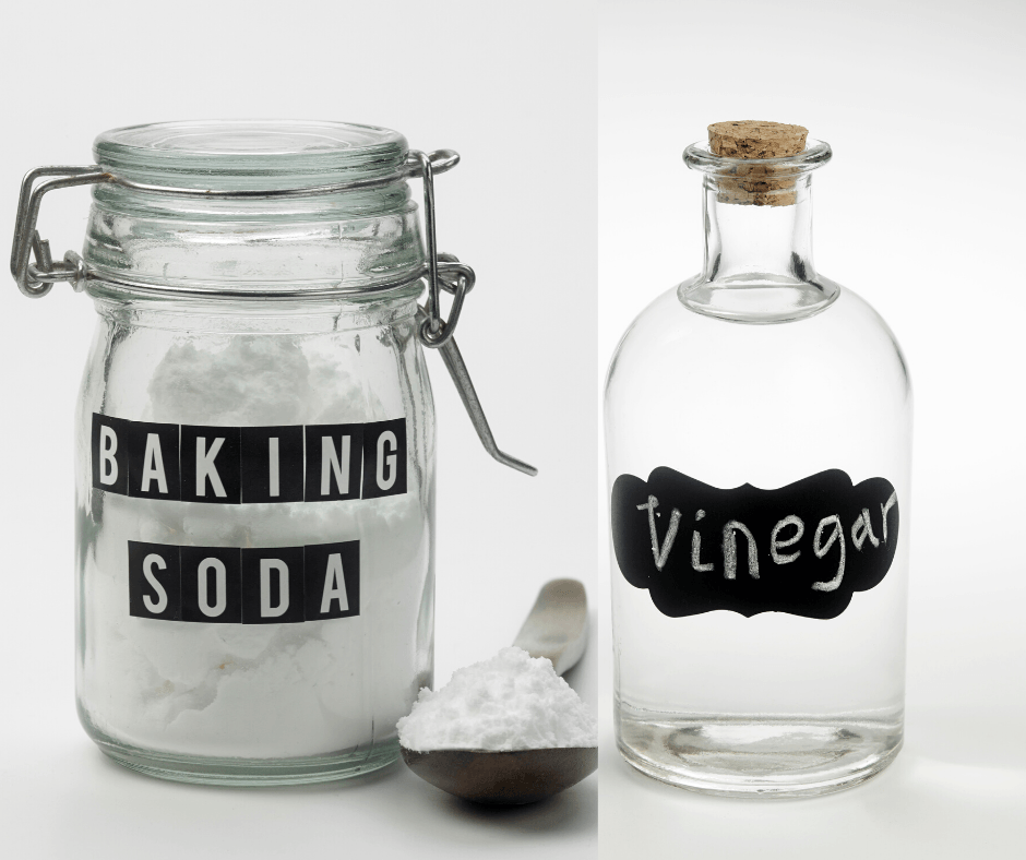 vinegar and baking soda oven cleaner