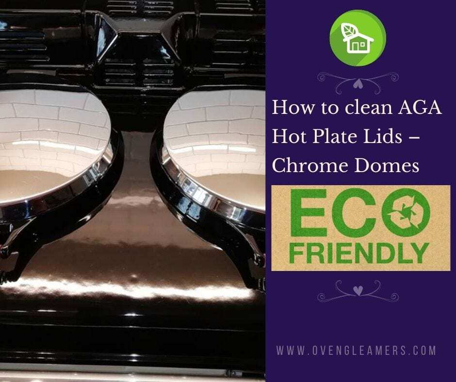 How to clean AGA Hot Plate Lids – Chrome Domes