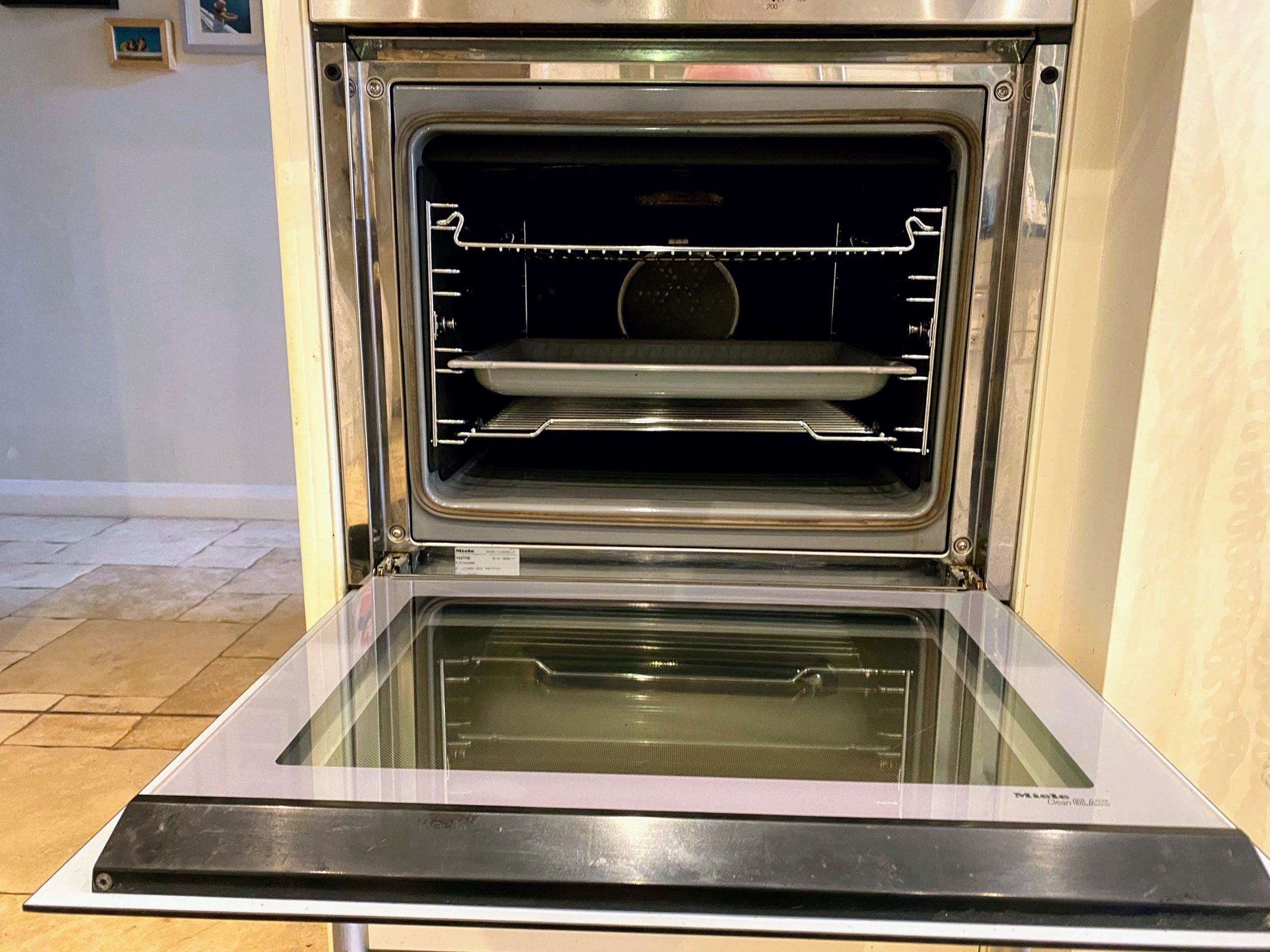 Miele Oven After Clean